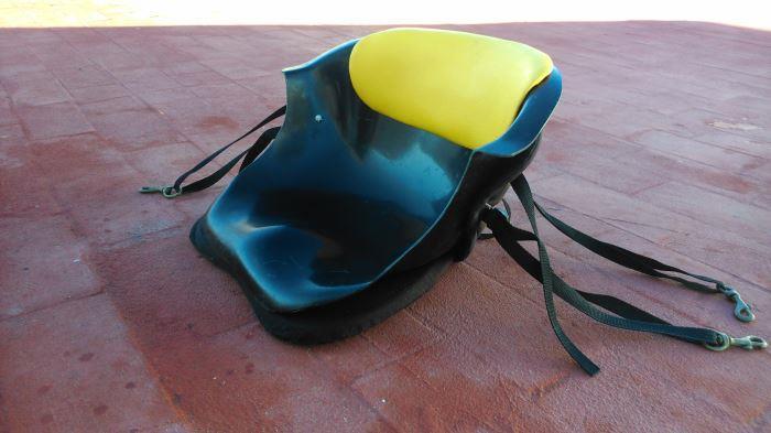 Silla o respaldo para el kayak for Sillas para kayak